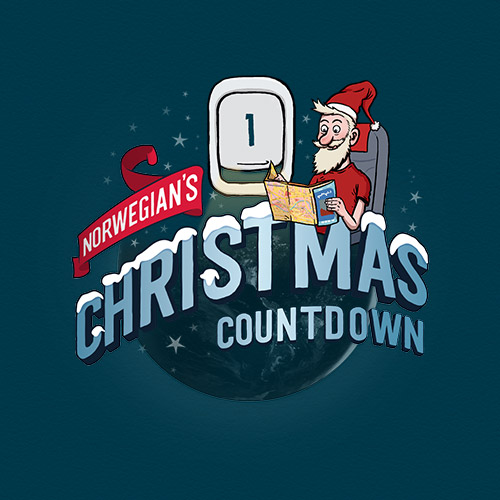 Norwegian's Christmas Countdown banner